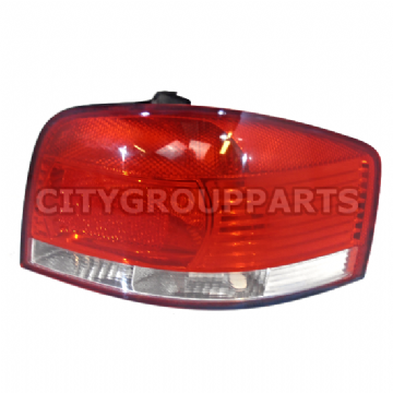 AUDI A3 8P 3 DOOR 2003 TO 08 REAR DRIVER O/S RIGHT TAIL LIGHT LENS  8P0 945 096A